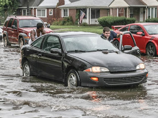 flooded junk cars