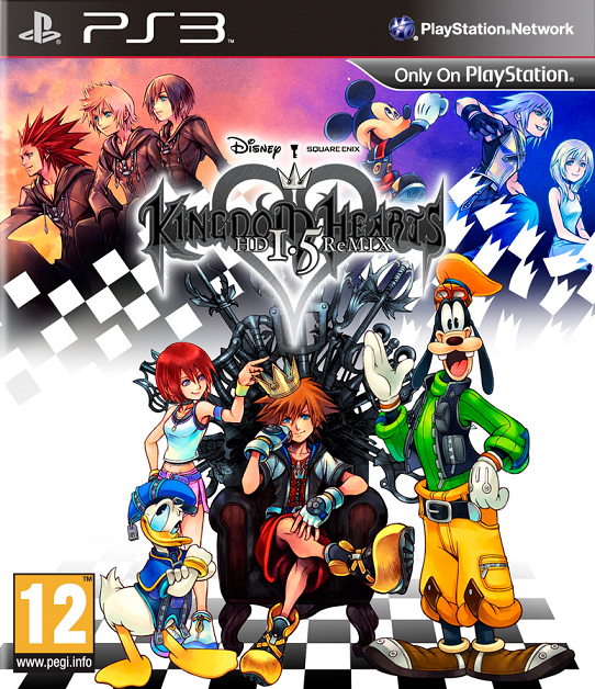 Kingdom Hearts HD 1.5 ReMIX PS3 ISO