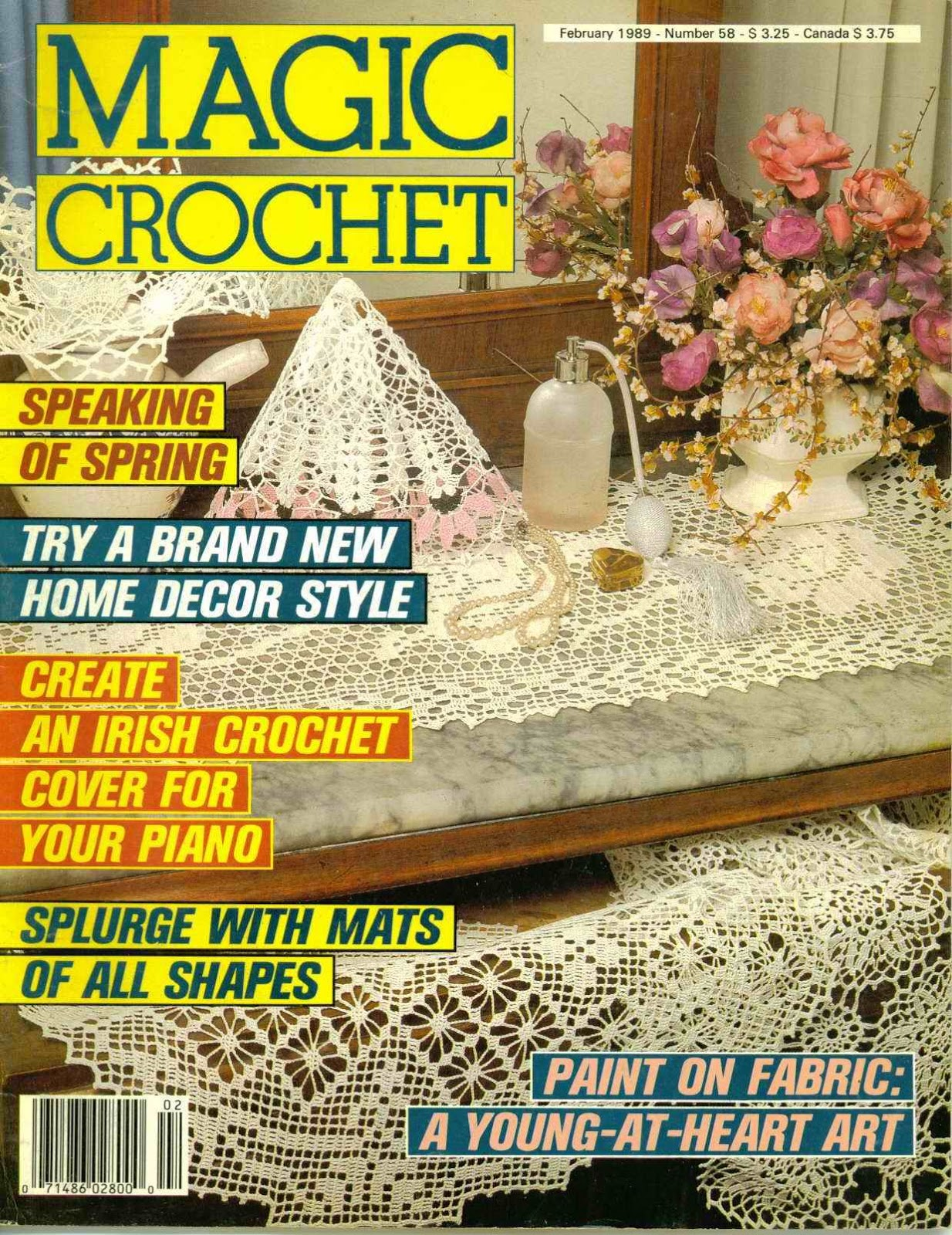 Magic Crochet No. 58 ~ Free Crochet Patterns