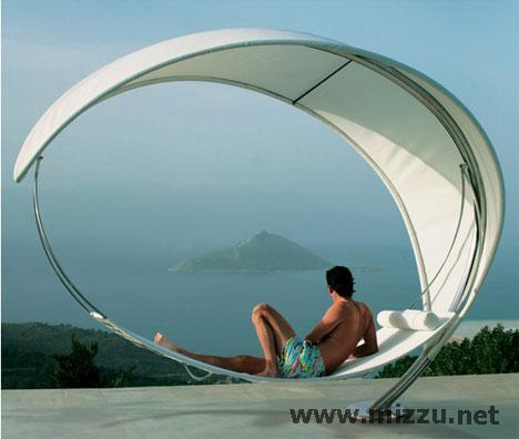 Tempat Tidur Unik Bertema Futuristik!