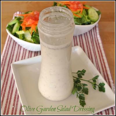 Mom What 39 S For Dinner Olive Garden Salad Dressing