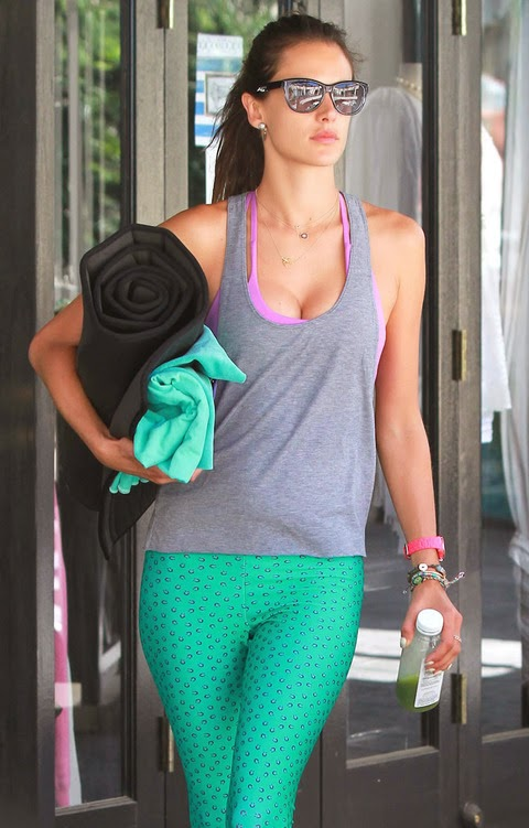 We Love Alessandra Ambrosio's Work Out Pants