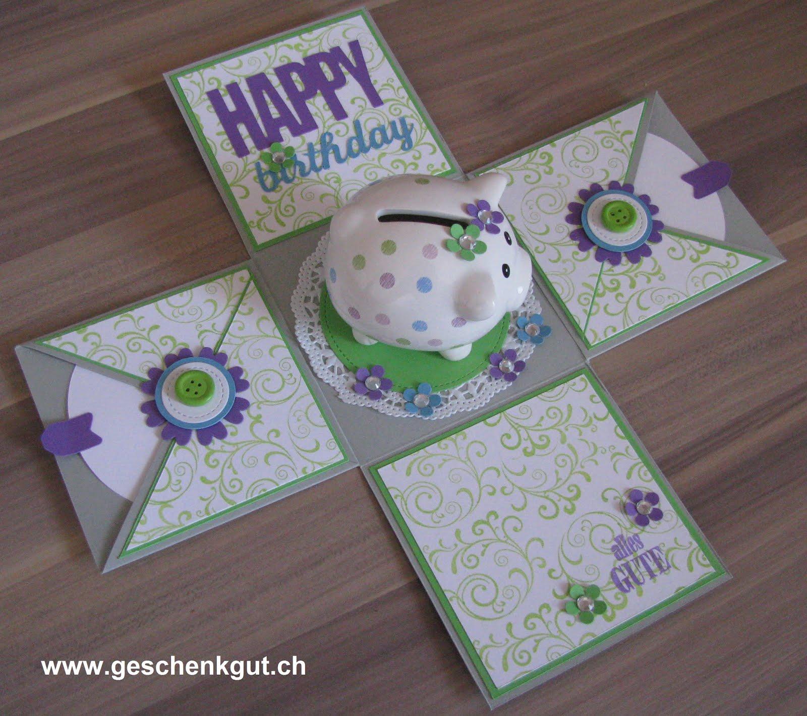 Geschenkgut shop geschenkverpackungen - Geschenk zum 25 geburtstag selber machen ...