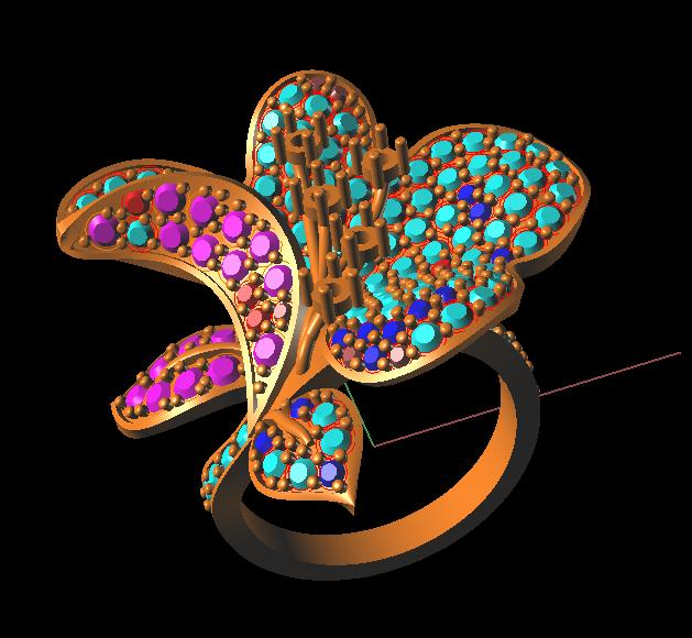 Chennai Jewelry Designing Training Art Academy Diamond Gold 3D CAD