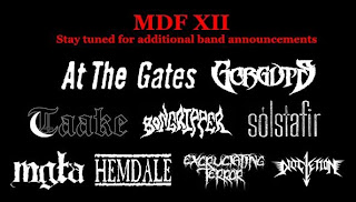 Maryland Deathfest XII 2014 1st Band Announcement