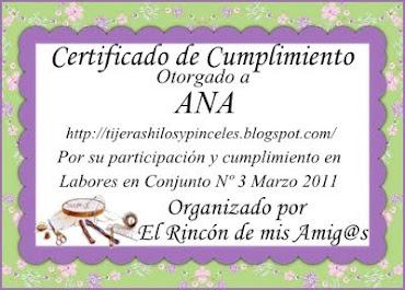certificado del concurso  de pendibule