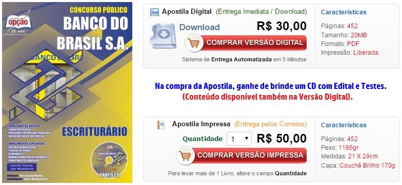 baixar,bb,edital,apostila ,impressa,digital,downloaf,2015