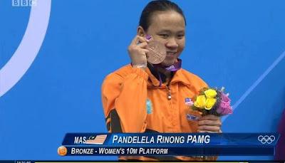 Tahniah Pandelela Rinong !!!