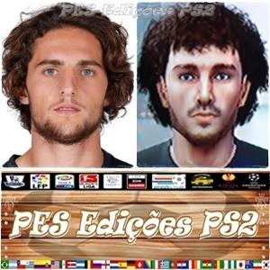 Adrien Rabiot (PSG) e França PES PS2