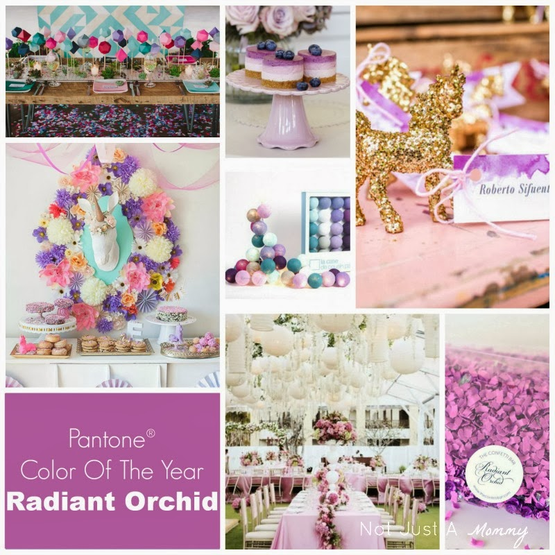 Pantone Color Of The Year Radiant Orchid party ideas