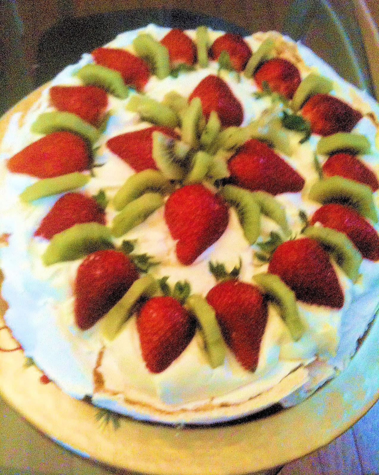 Strawberry Kiwi Pavlovas Recipes — Dishmaps
