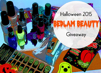 Bedlam Beauty Halloween Giveaway