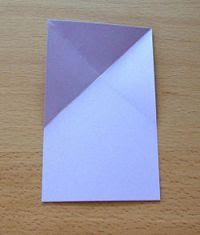 folha papel dobrado