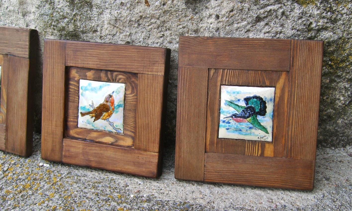 Cuadros de esmalte al fuego y madera - Esmalte para madera ...