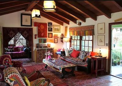 Desain Ruang Tamu Vintage