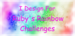 Proud to design for Ruby's Rainbow Challenges