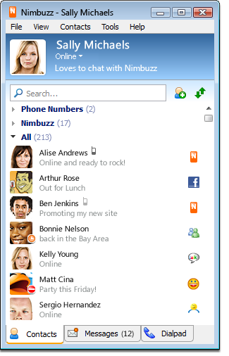Nimbuzz Messenger for Android - Free Download