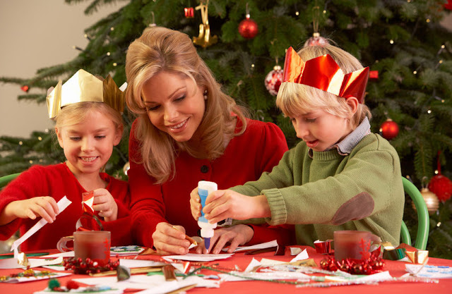 Funny Christmas Cards Family With Kids