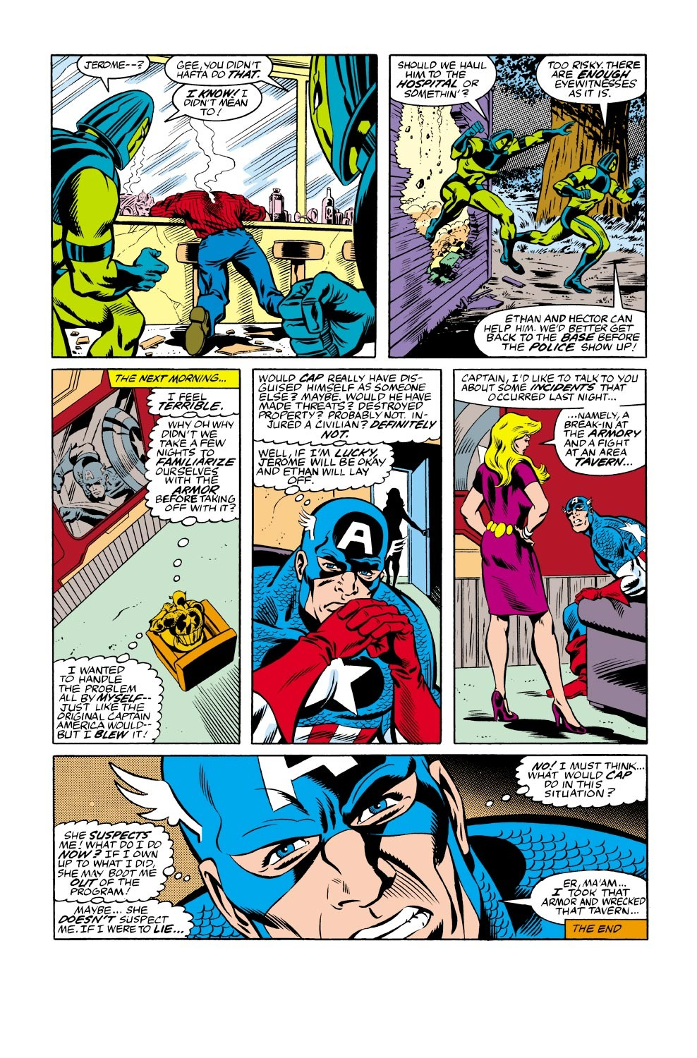 Captain America (1968) Issue #334 #263 - English 23