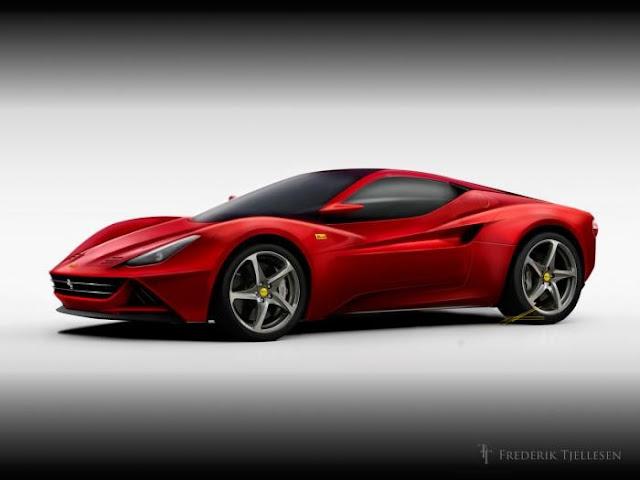 спортивные машины Ferrari
