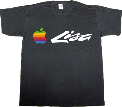apple lisa retro vintage anniversary t-shirt ephemeral-t-shirts