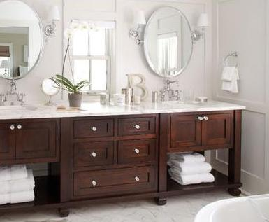 Imagenes de muebles para lavamanos modernos for Banos clasicos modernos
