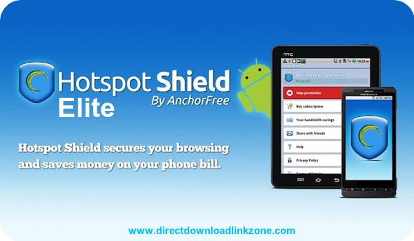 Hotspot Shield Elite VPN v3.6.0G Mod Cracked Image