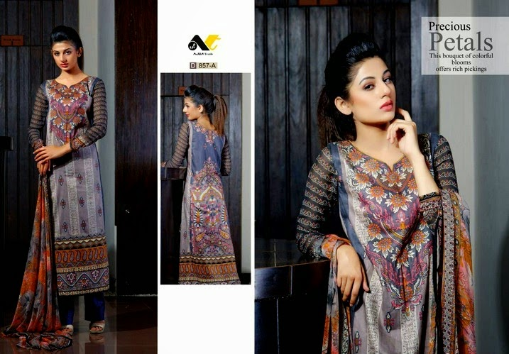 Chiffon Lawn Collection 2014