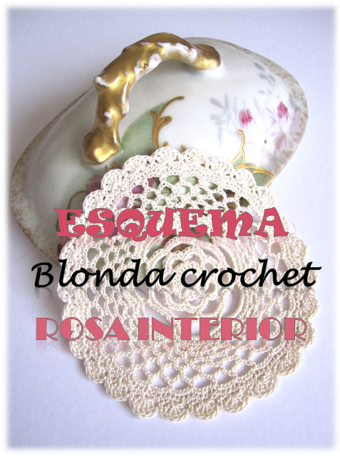 esquema blonda crochet rosa interior descargable