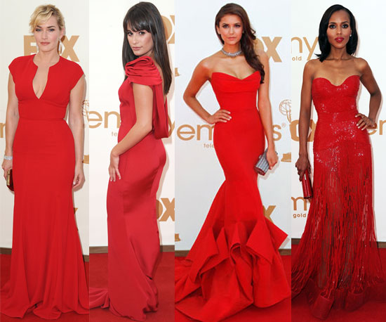 All+of+the+red+dresses+at+the+Emmys Red Dresses