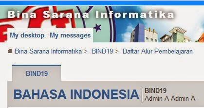 Kunci jawaban Elearning BSI Bahasa Indonesia pertemuan 4