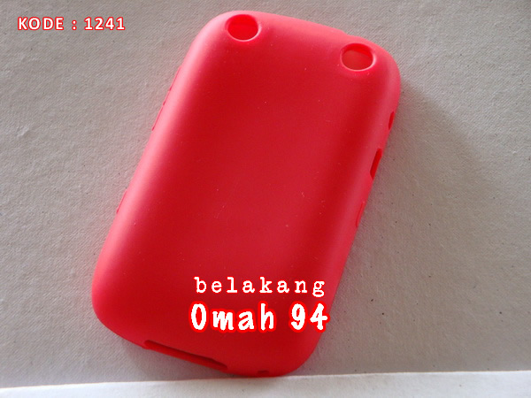 Front - Rubber Back Blackberry Curve Amstrong 9310 9320 Merah (Red