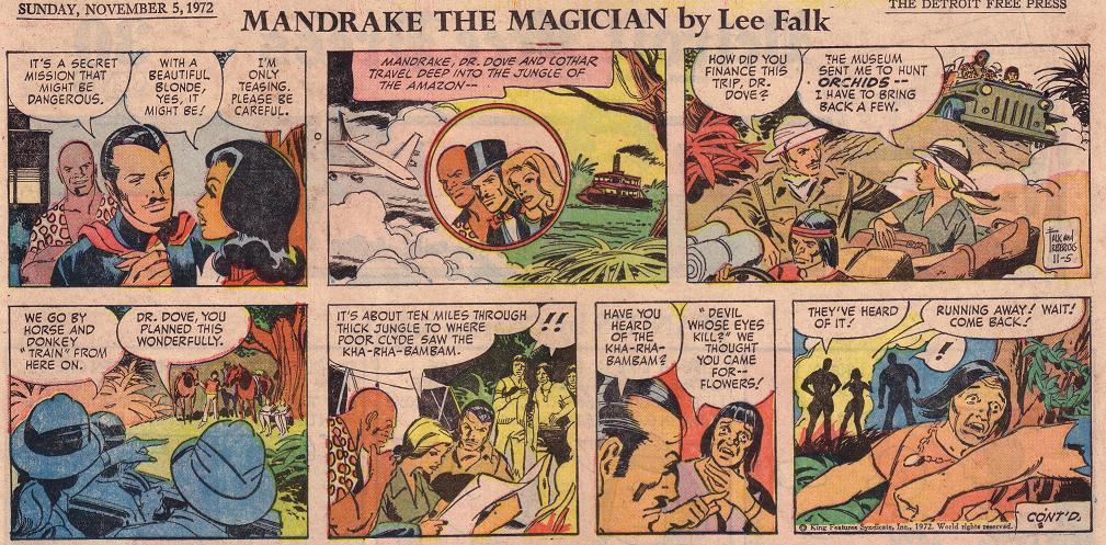 Mandrake Le Magicien - Comics - Comics Sanctuary