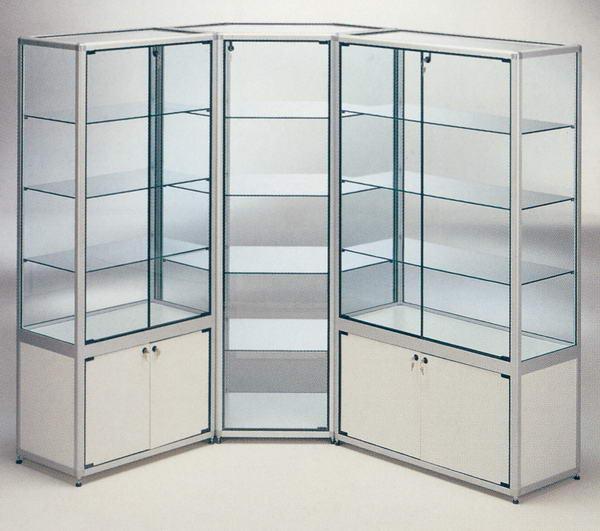 Sof a ieshglavall mobiliario en la tienda vitrinas - Vitrinas de pared para colecciones ...