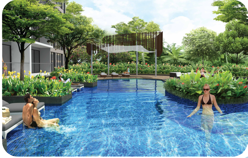 north park residences relax with pool