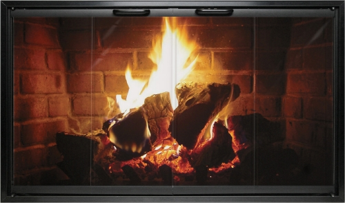 Fireplace decorating heatilator fireplace doors redo it yourself fireplace glass doors offer a safe window into our fire keeping ash smoke and excessive heat inside the fireplace where they should stay solutioingenieria Images