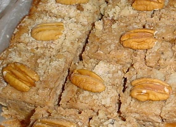 CRACKERBERRIES: Sweet Potato Cheesecake Bars