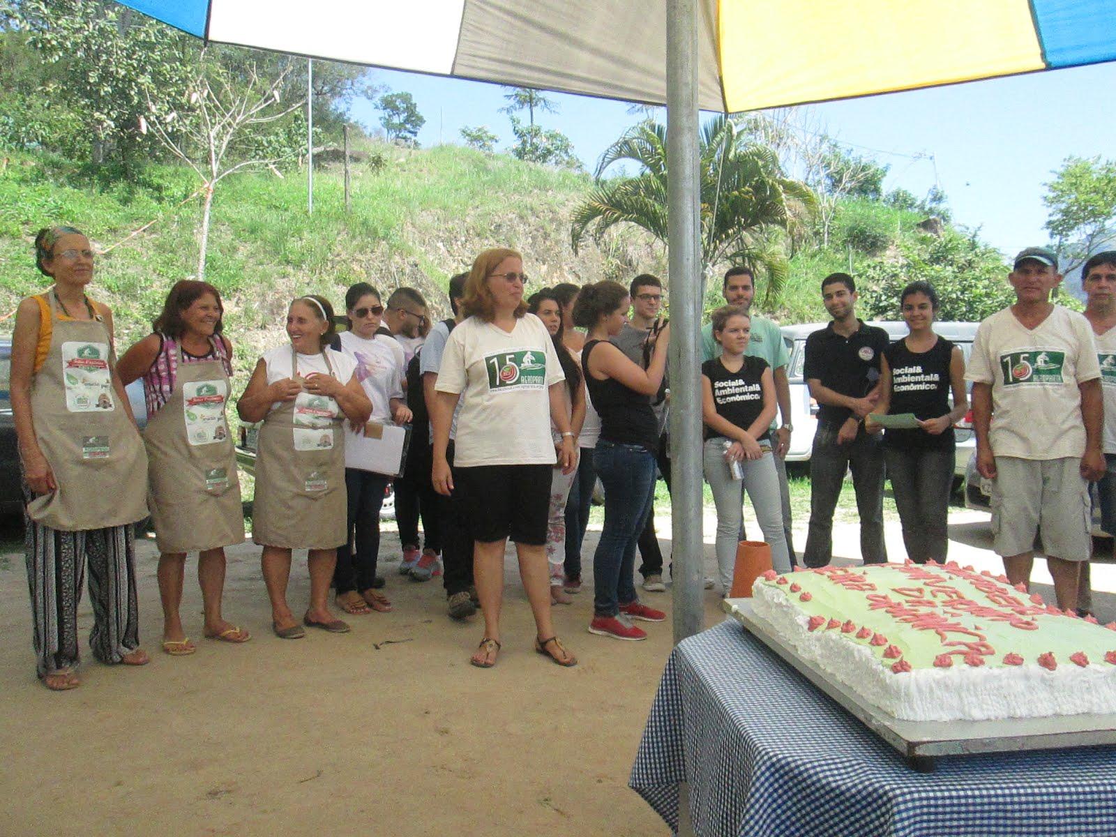 1 ano de Feira Orgânica do Rio da Prata