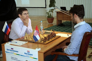 Ronde 7, le Russe Dmitry Jakovenko (2730) bat Ivan Saric (2666)