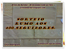 Sorteio no blog Artes de Bordar