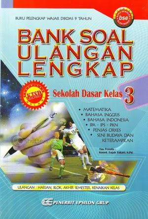 Bank Soal Ulangan Lengkap Sd Kelas 3 Mikki Books