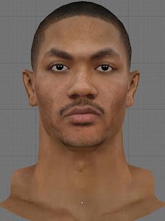 NBA 2K13 Derrick Rose Cyberface Mod