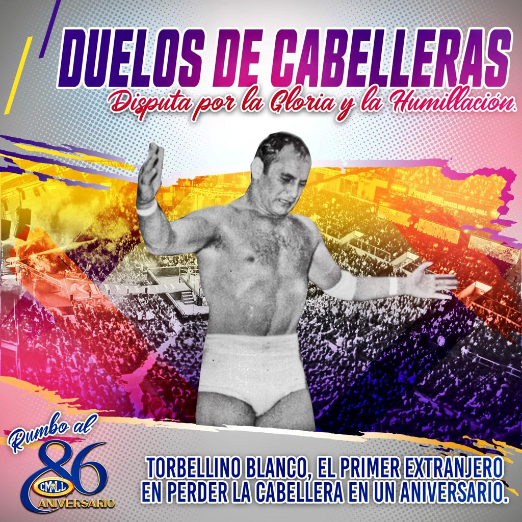 Aniversario CMLL: Torbellino Blanco