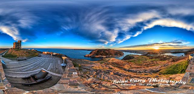Cabot Tower Signal Hill St John's Newfoundland