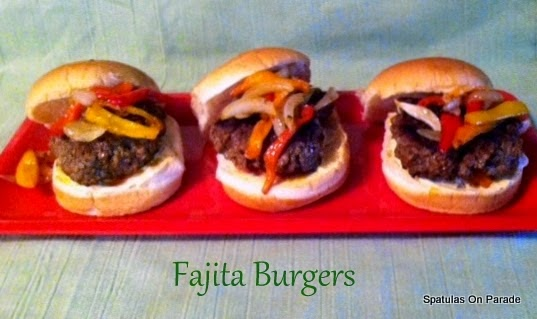 Spatulas On Parade: Turkey Fajita Burgers