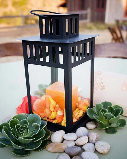 Not only are lanterns popular in wedding decor but in 2012 we have seen a