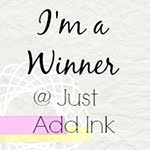 Gané el reto #263 de Just Add Ink: