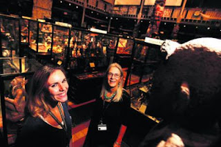 Image of Museum staff in the galleries