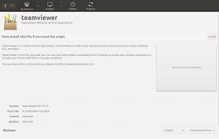 Instalasi Teamviewer Ubuntu