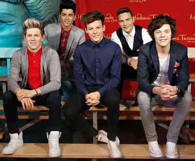 Madame tussauds new york - one direction waxworks (2013)